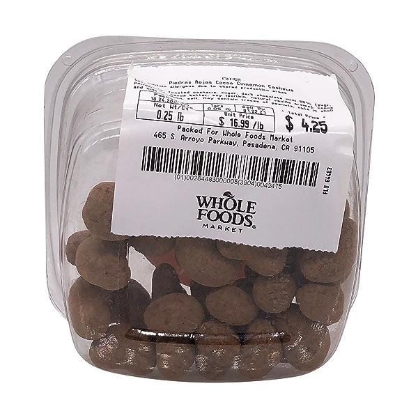 Piedras Rojas Cocoa Cinnamon Cashews, 0.25 lb 4