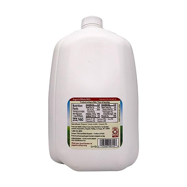 Organic Vitamin D Whole Milk 2
