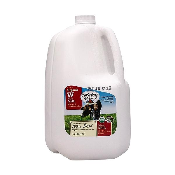 Organic Vitamin D Whole Milk 1
