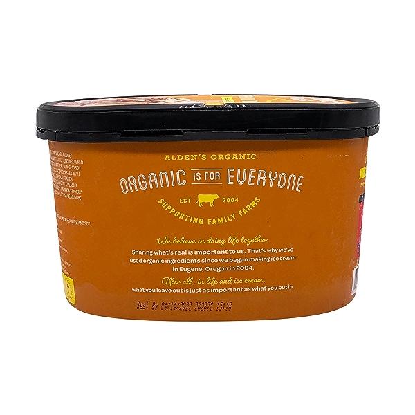 Organic Peanut Butter Fudge Ice Cream, 1.5 qt 4