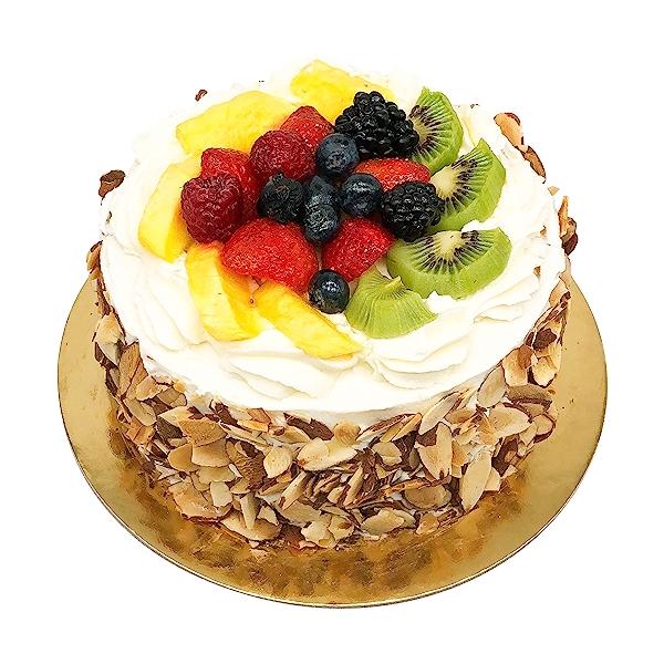 Custard Fruit Cake 6, 1 each 1