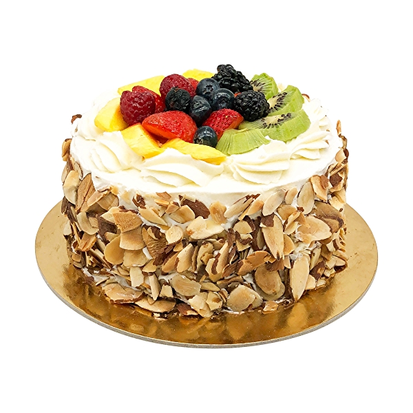 Custard Fruit Cake 6, 1 each 3
