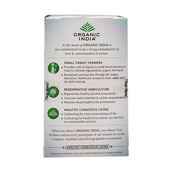 Organic Clementine Vanilla Tulsi Focus Tea, 1.27 oz 3