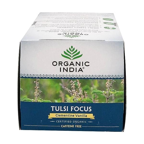 Organic Clementine Vanilla Tulsi Focus Tea, 1.27 oz 5