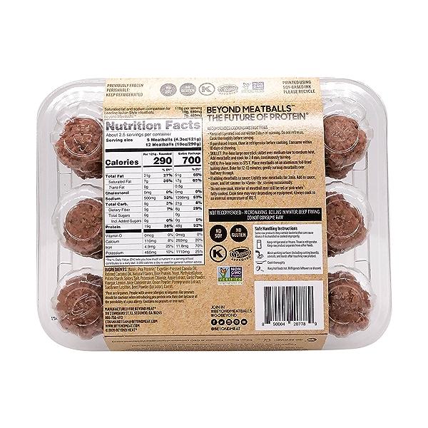 Plant Based Meatballs 2