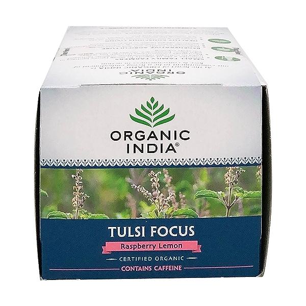 Organic Raspberry Lemon Tulsi Focus Tea, 1.27 oz 5