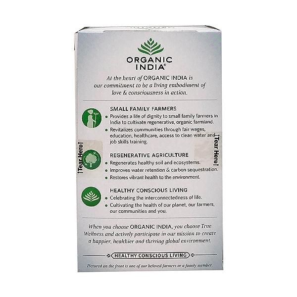 Organic Raspberry Lemon Tulsi Focus Tea, 1.27 oz 3