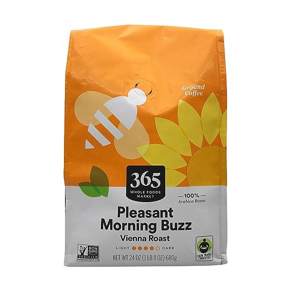 Pleasant Morning Buzz Vienna Roast Ground Coffee, 24 oz 1