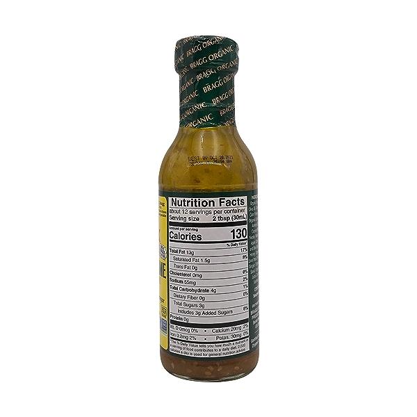 Organic Ginger & Sesame Salad Dressing, 12 fl oz 2