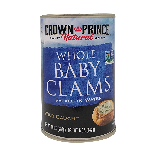 Boiled Baby Clams 1