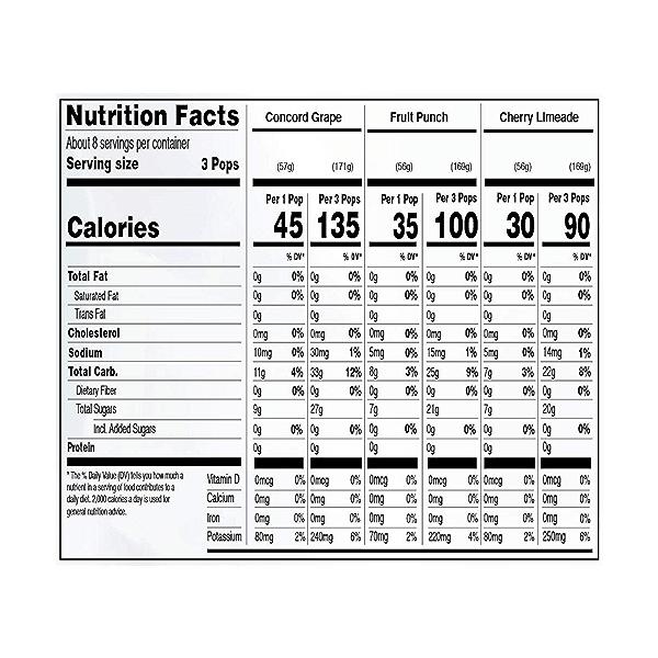Organic Freezer Pops, 42.96 fl oz 2