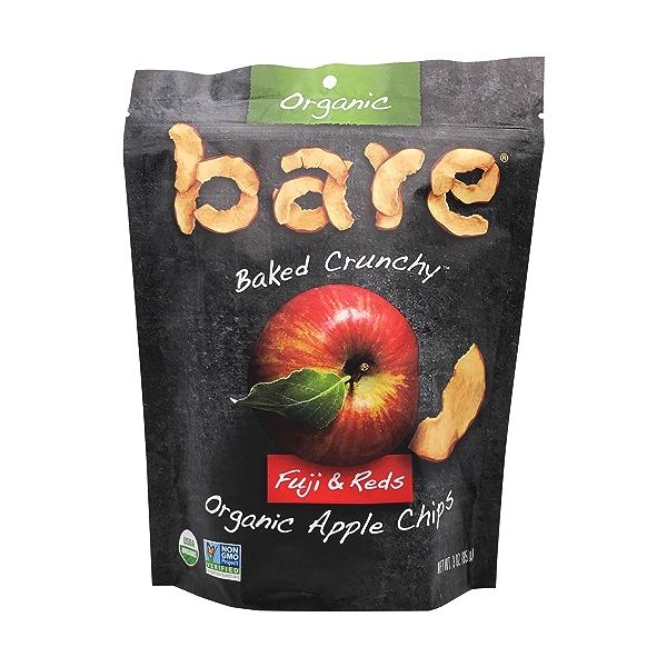 Organic Fuji & Reds Apple Chips, 3 oz 1