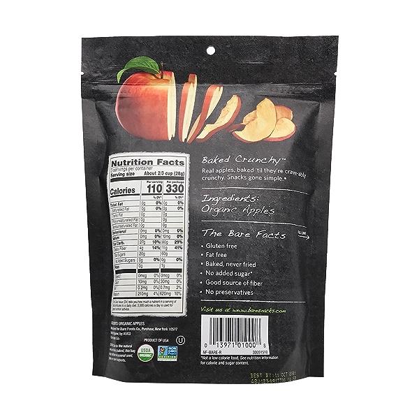 Organic Fuji & Reds Apple Chips, 3 oz 2