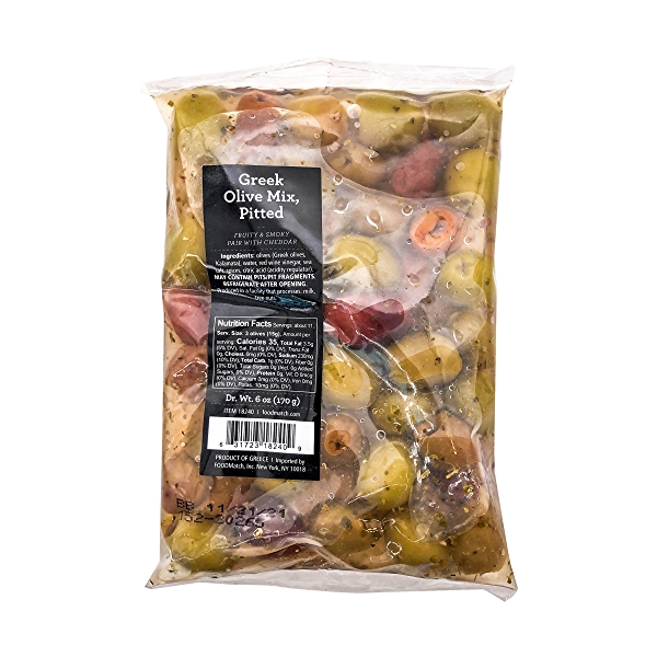 Pitted Greek Mix, 6 oz 2