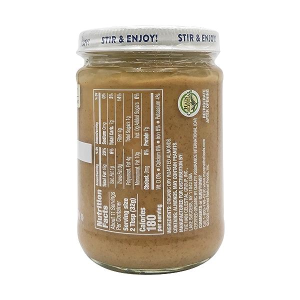 Organic Creamy Roasted Almond Butter, 12 oz 2