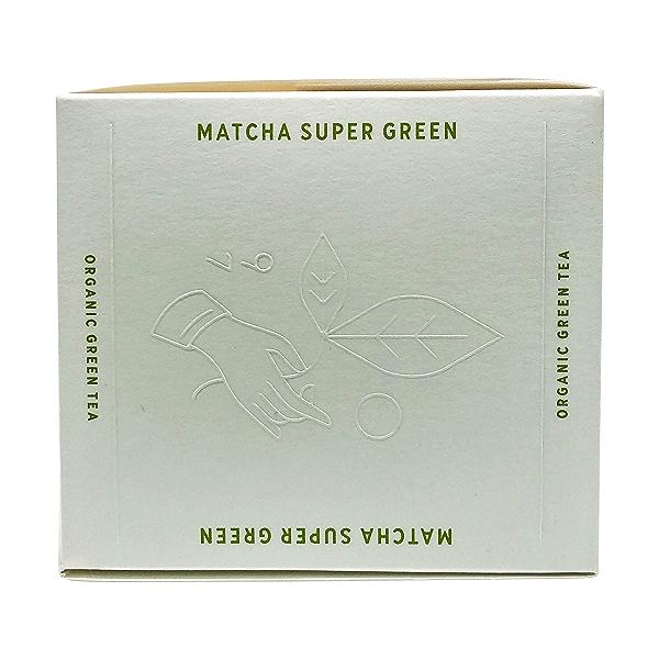 Organic Matcha Super Green Tea, 1.42 oz 5
