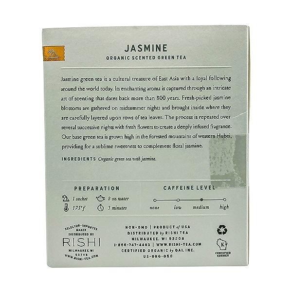 Organic Jasmine Green Tea, 1.48 oz 2