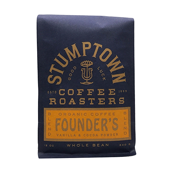 Organic Founders Blend Whole Bean Coffee, 12 oz 1