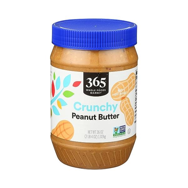 Crunchy Peanut Butter, 36 oz 1