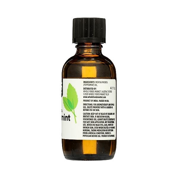 Aromatherapy 100% Essential Oil, Peppermint, 2 fl oz 5
