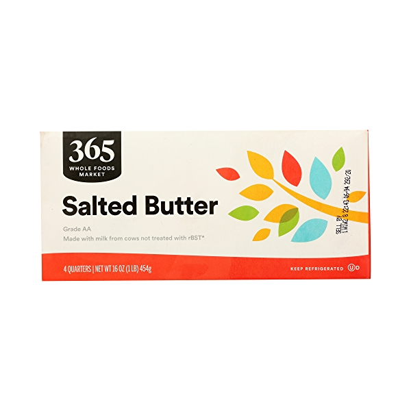 Butter, Salted 4 Quarters, 16 oz 1