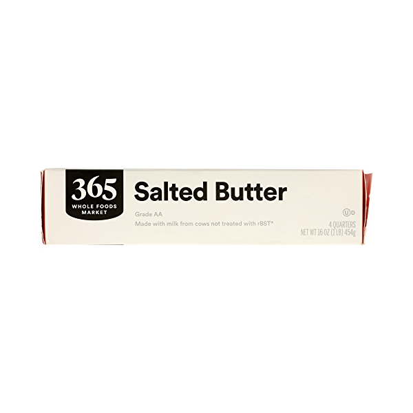Butter, Salted 4 Quarters, 16 oz 3