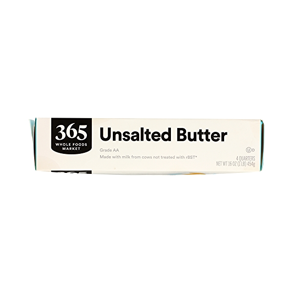 Butter, Unsalted 4 Quarters, 16 oz 3