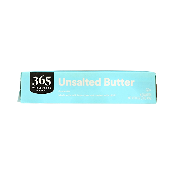 Butter, Unsalted 4 Quarters, 16 oz 6