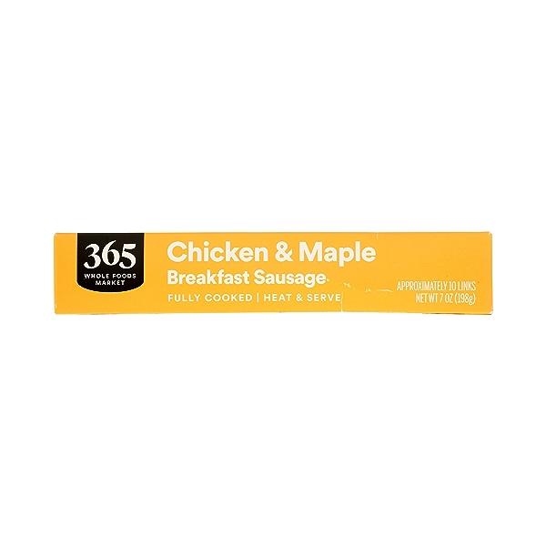 Frozen Breakfast Sausage, Chicken & Maple 3
