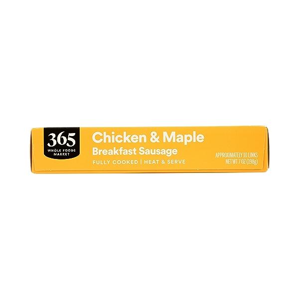 Frozen Breakfast Sausage, Chicken & Maple 6