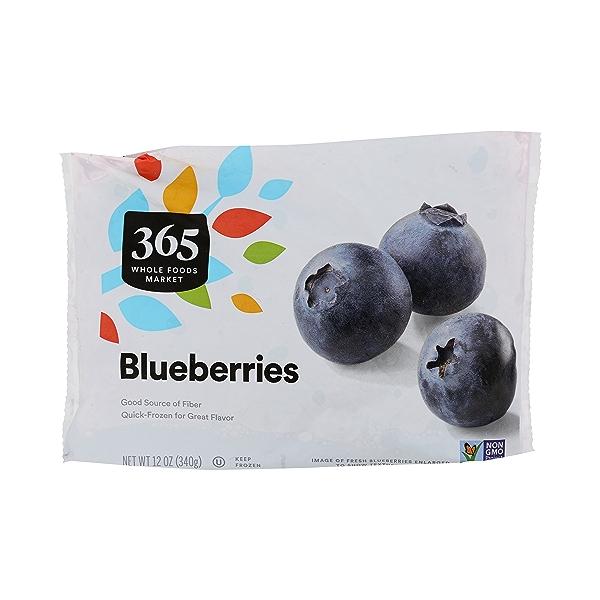 Frozen Fruit, Blueberries 1