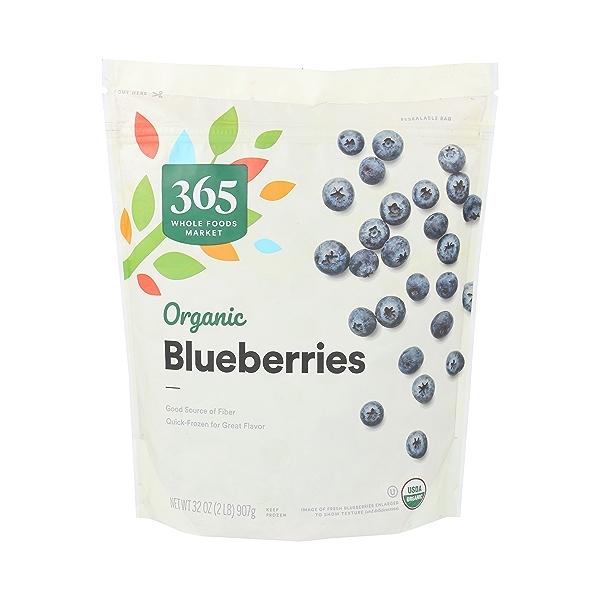 Frozen Organic Fruit, Blueberries 1