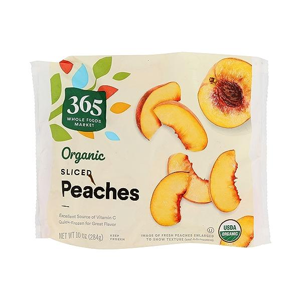 Frozen Organic Fruit, Peaches - Sliced 1