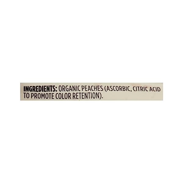 Frozen Organic Fruit, Peaches - Sliced 8