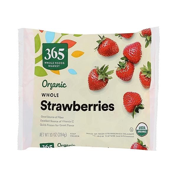 Frozen Organic Fruit, Strawberries - Whole 1