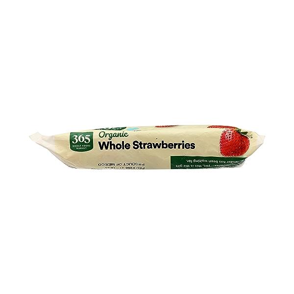 Frozen Organic Fruit, Strawberries - Whole 6