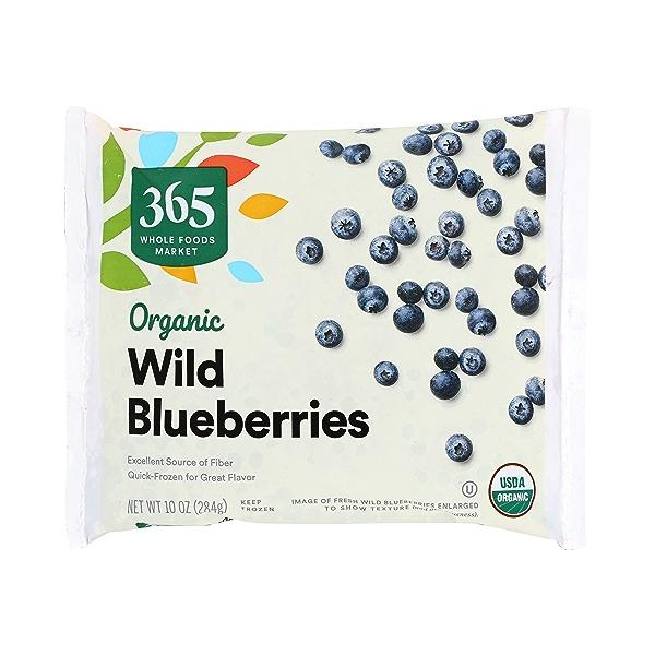 Frozen Organic Fruit, Wild Blueberries 1