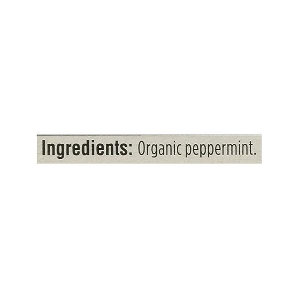 Organic Herbel Tea - Caffeine Free, Peppermint (40 Tea Bags), 1.8 oz 7