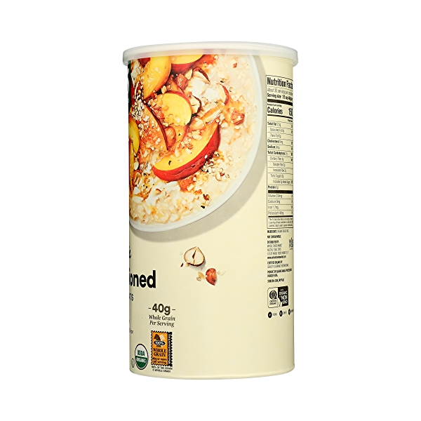 Organic Hot Cereal, Old-Fashioned Rolled Oats, 42 oz 5