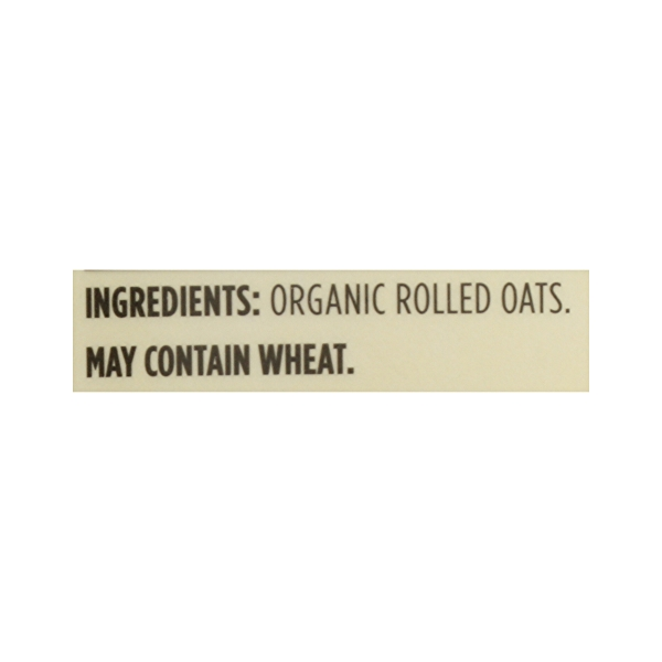 Organic Hot Cereal, Old-Fashioned Rolled Oats, 42 oz 8