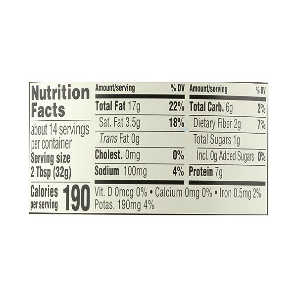 Organic Peanut Butter, Creamy - No Sugar Added, 16 oz 7