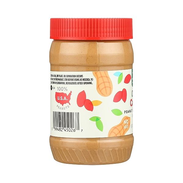 Organic Peanut Butter, Creamy, 16 oz 2