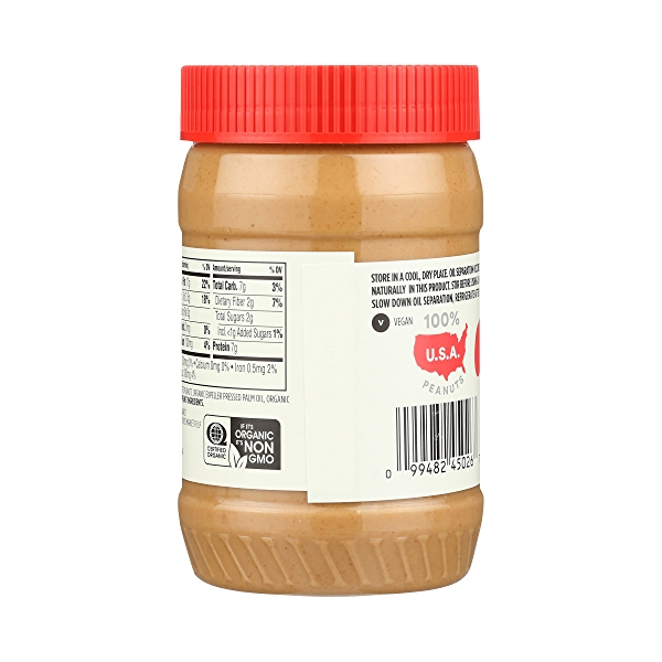 Organic Peanut Butter, Creamy, 16 oz 4