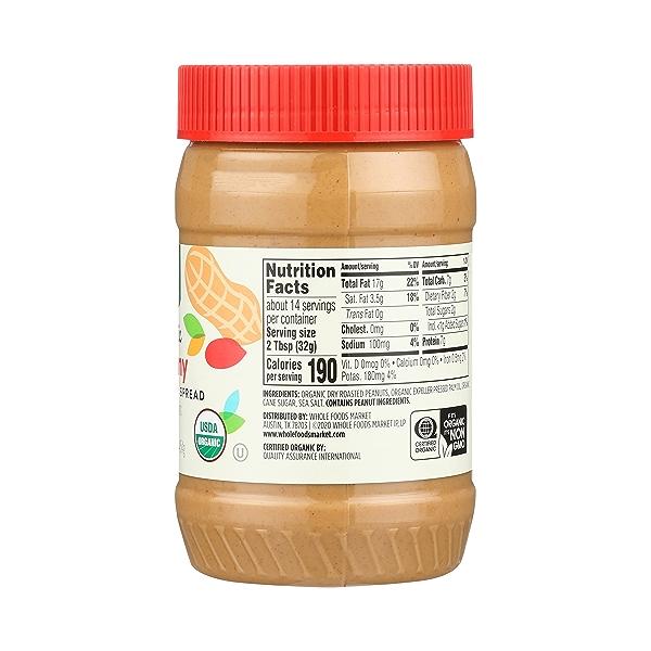 Organic Peanut Butter, Creamy, 16 oz 5