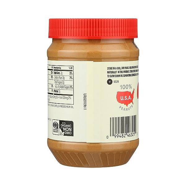 Organic Peanut Butter, Creamy, 28 oz 4