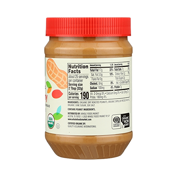 Organic Peanut Butter, Creamy, 28 oz 5
