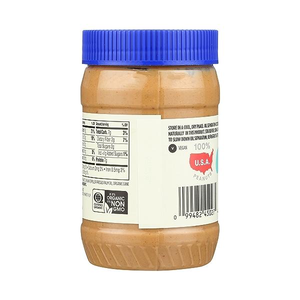 Organic Peanut Butter, Crunchy, 16 oz 4