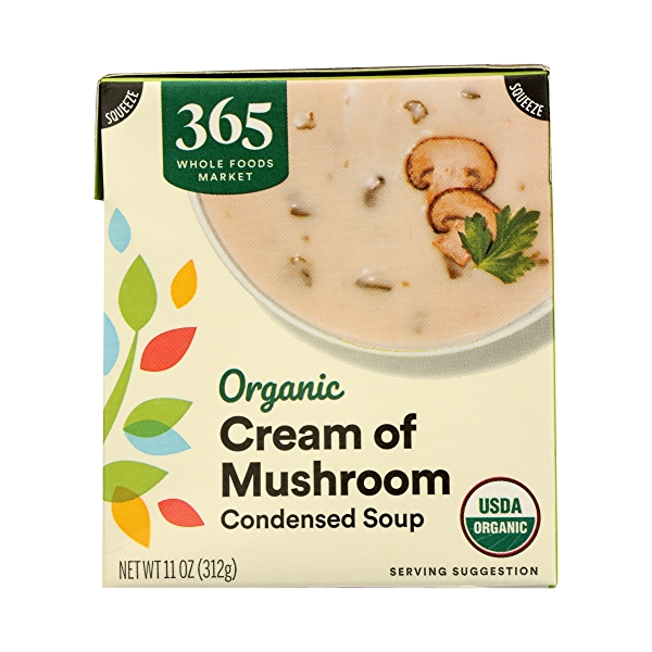 Organic Soup, Cream of Mushroom, 11 oz 1