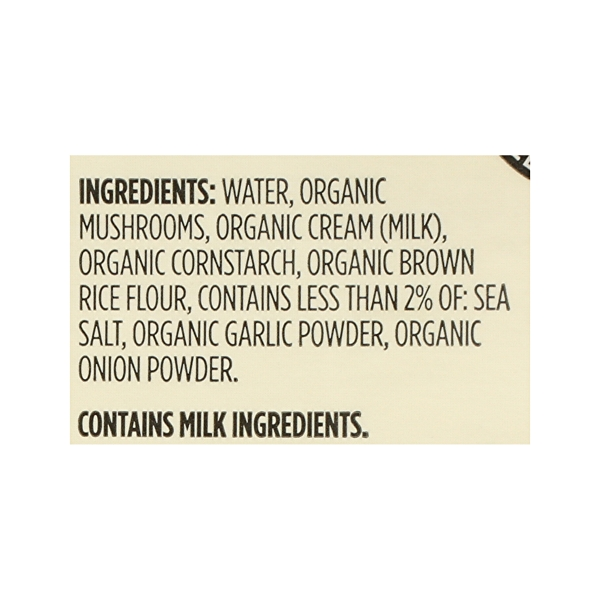 Organic Soup, Cream of Mushroom, 11 oz 8