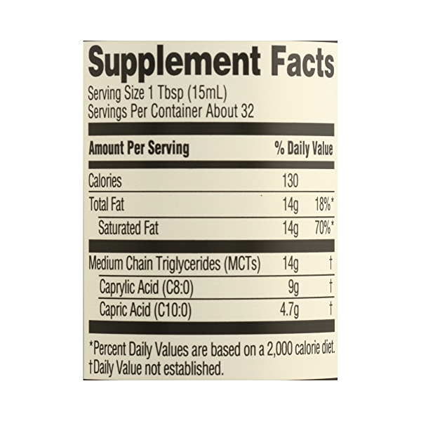 Organic Supplement - Sports Nutrition, MCT Oil - Unflavored, 16 fl oz 7